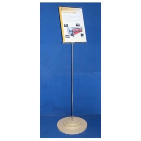 Mini Totem A4 Inox-45-900-450-100