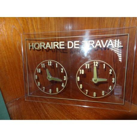 Tableau Horaire