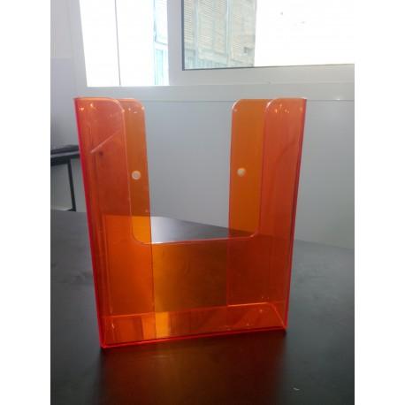 Poches à Visser Pour Prospectus Orange