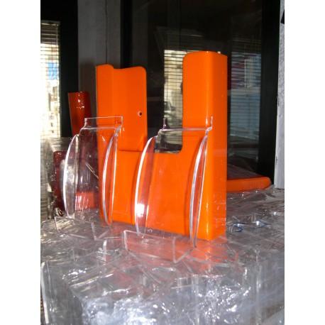 Poches Porte Dépliants A5 et GSM Orange
