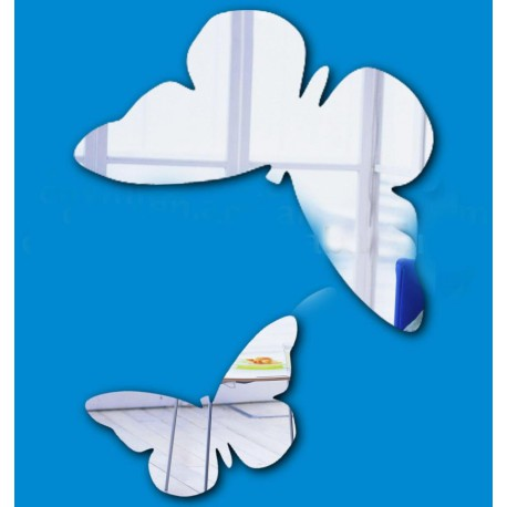 Papillons miroir Stickers