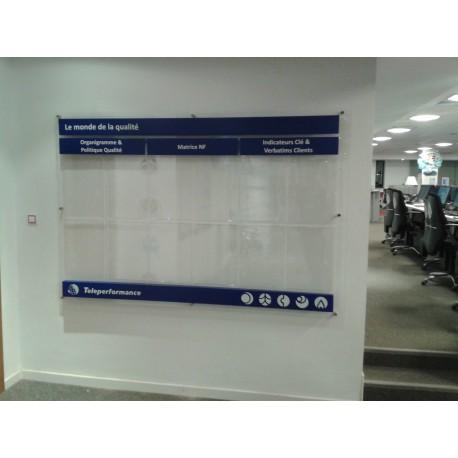 tableau d'affichage TELEPERFORMANCE